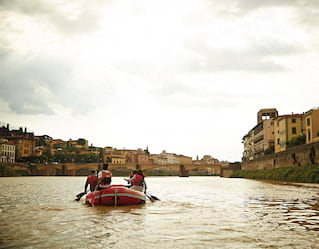 Rafting in Florence