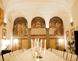 Fresco painting Florence