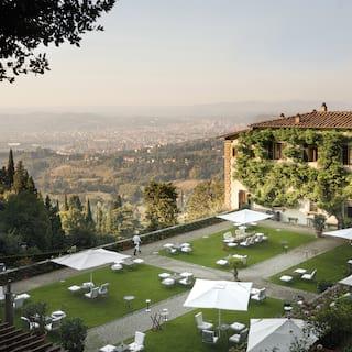 Belmond Villa San Michele garden, View over Florence