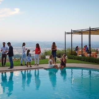 Pool Party in Florence, Belmond Villa San Michele