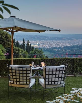 Belmond Villa San Michele, Private dining