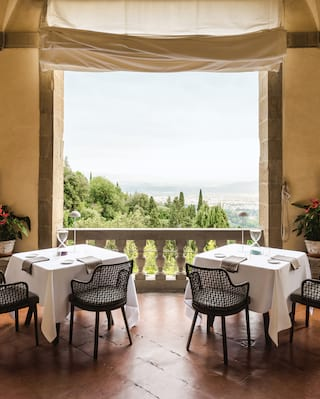 Food at Belmond Villa San Michele