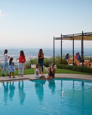 Pool Party in Florence, Belmond Villa San Michele