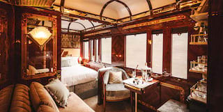 Art Deco Carriage in Venice Simplon-Orient-Express, Belmond