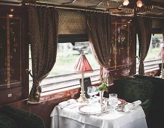 Venice Simplon-Orient-Express dining car