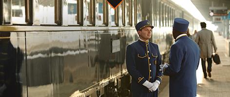 豪華列車の旅