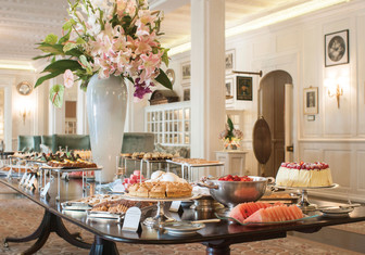Tea at Belmond Mount Nelson Hotel