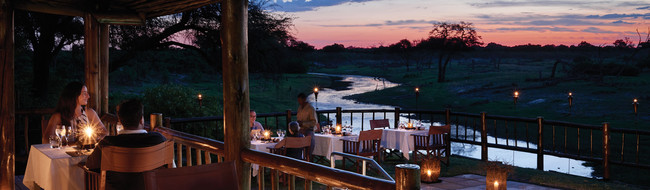Safari Lodges de luxe au Botswana