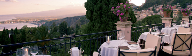Restaurants in Taormina