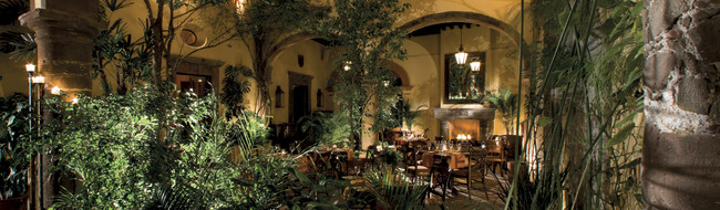 Exklusive Restaurants in San Miguel
