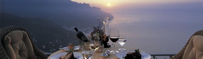Gastronomisches Angebot in Amalfi