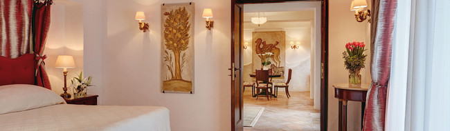 ラヴェッロの一流ホテル