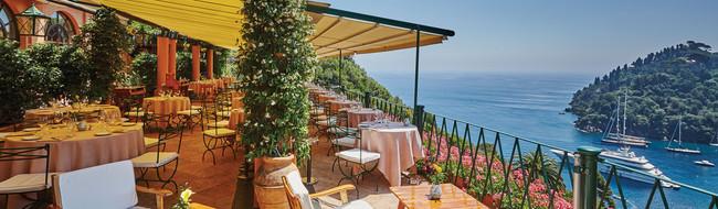 ポルトフィーノのレストラン