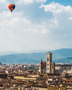 Firenze IN MONGOLFIERA