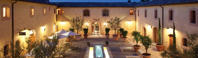 Fine dining Tuscany