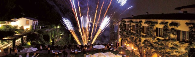 Celebrations at Villa San Michele