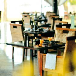 Restaurants in Jimbaran, Bali, Indonesia