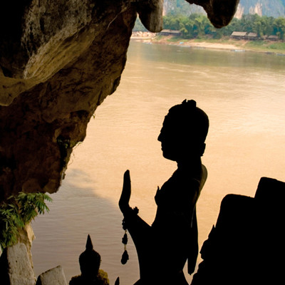 Buddhist Retreat in Laos