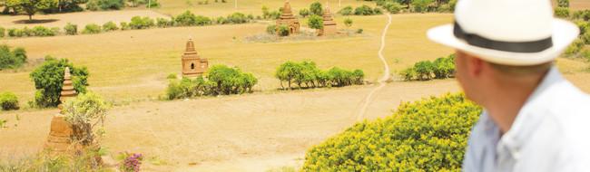 Jornadas fluviais de luxo por Myanmar