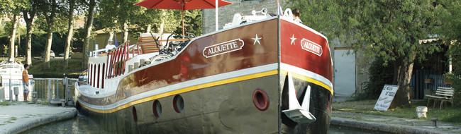 フランスの豪華遊覧船クルーズ