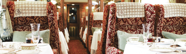 luxury train journeys uk
