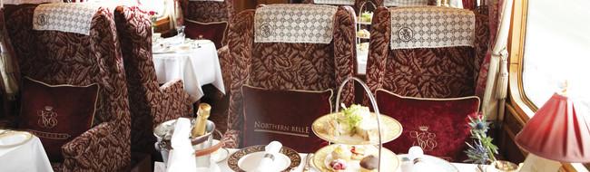 Afternoon Tea on Belmond Northern Belle