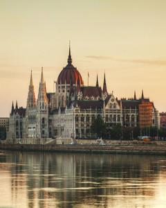 Voyage en train à Budapest